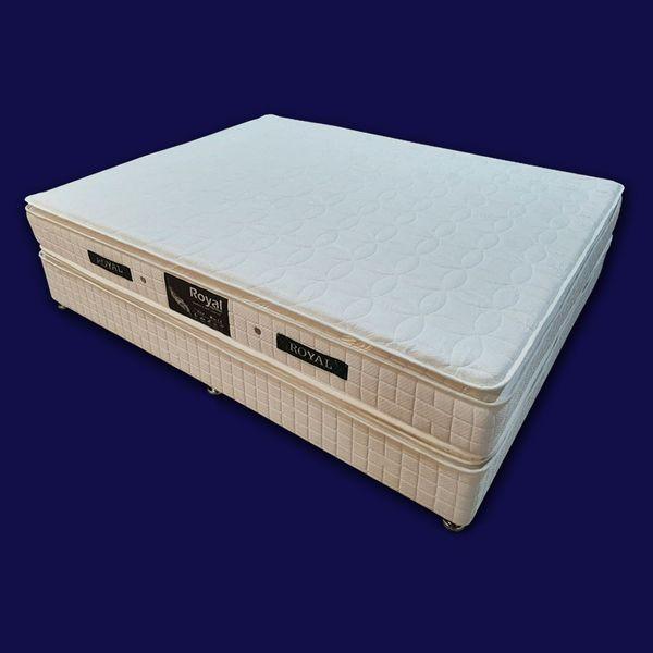 تخت خواب دو نفره رویال کد BL5 سایز 200 × 160 سانتیمتر