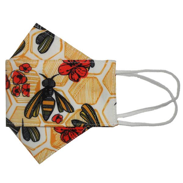 ماسک پارچهای مدل زنبوری کد DB35