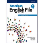 کتاب American English File 3rd 2 اثر جمعی از نویسندگان انتشارات هدف نوین