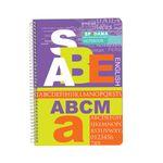 دفتر زبان 50 برگ اسپادانا کد ABCM