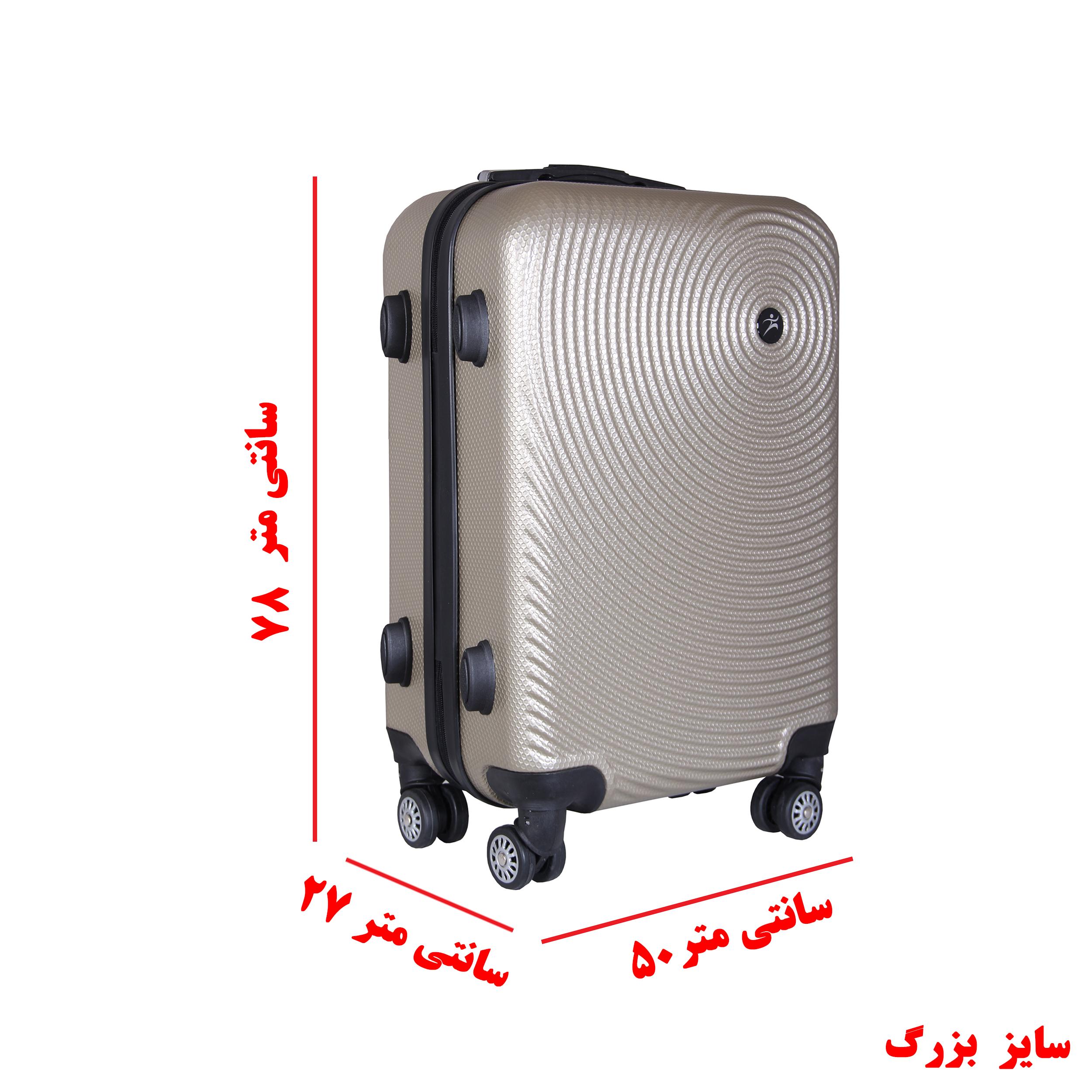مجموعه چهار عددی چمدان اسپرت من مدل NS001 thumb 15