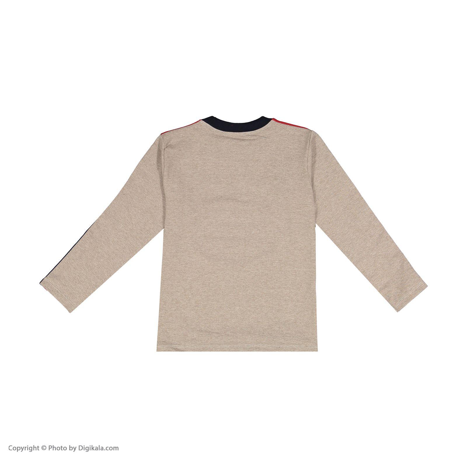 ست تی شرت و شلوار پسرانه سیدونا مدل KSI6003-031 -  - 4
