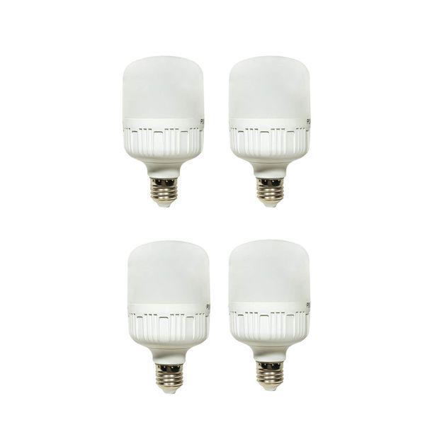 لامپ ال ای دی 30 وات پوکلا کد 4-30 پایه E27 بسته 4 عددی