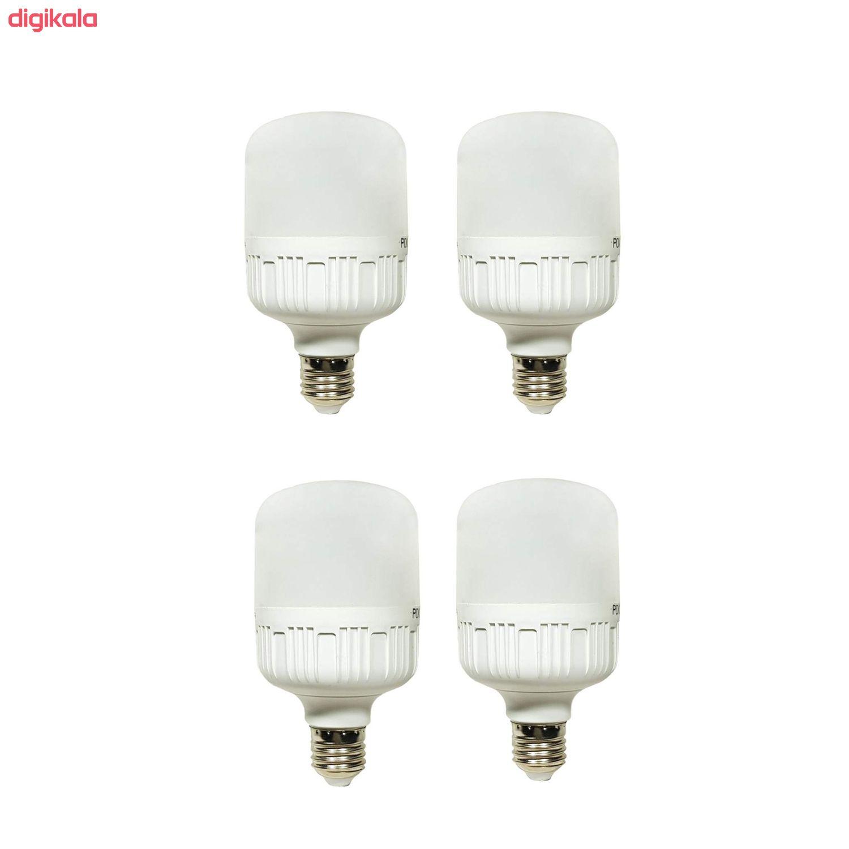 لامپ ال ای دی 30 وات پوکلا کد 4-30 پایه E27 بسته 4 عددی main 1 1