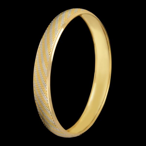 النگو طلا 18 عیار زنانه طلای مستجابی مدل آوا کد M01