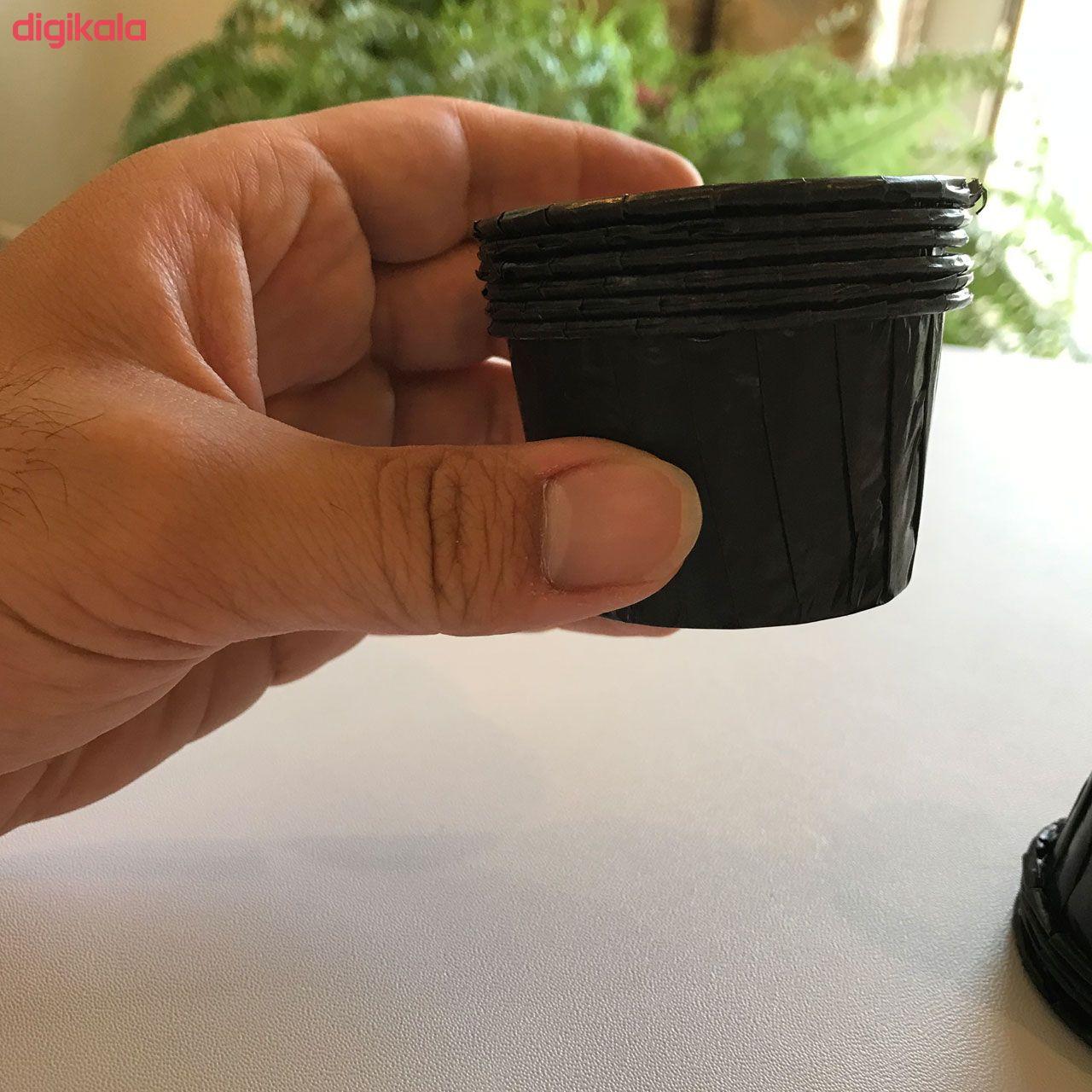کپسول کاپ کیک کد 008 بسته 10عددی main 1 3