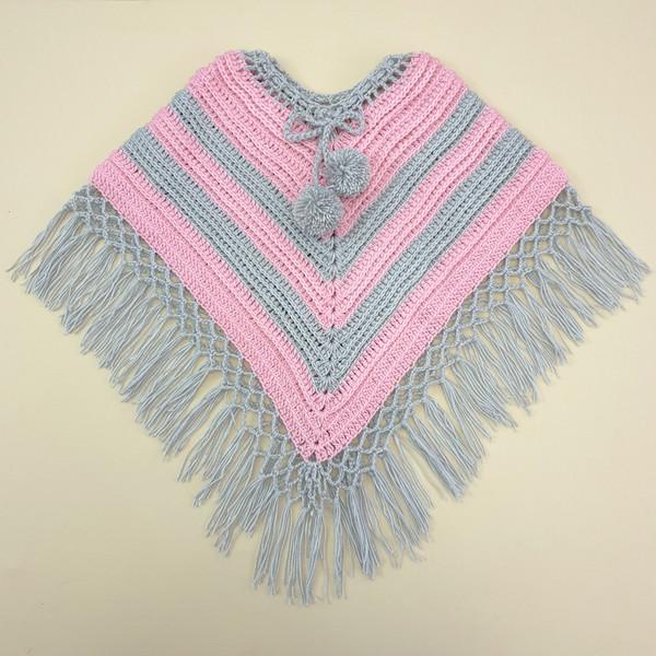 شنل بافت دخترانه كد PN06-PKGR