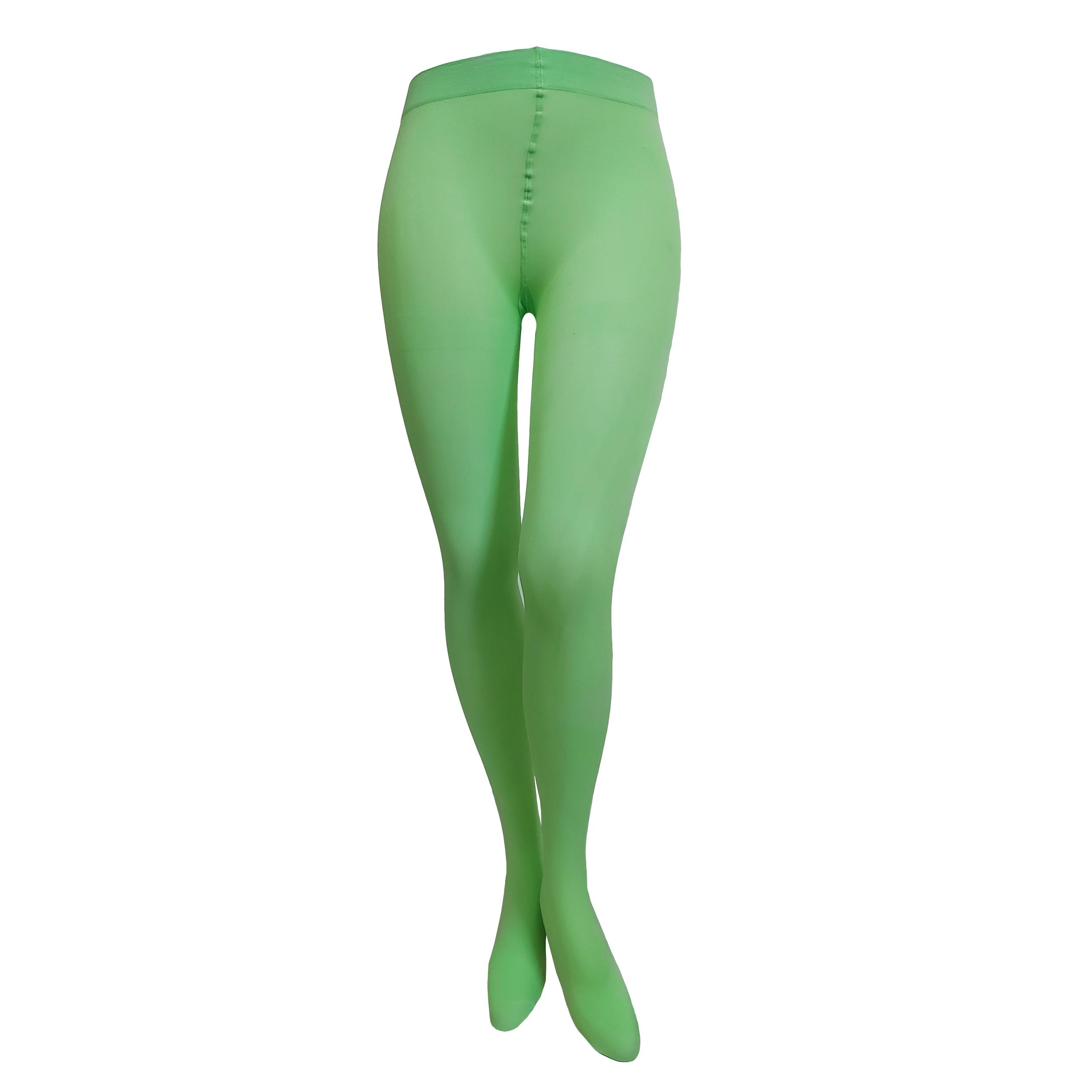 جوراب شلواری زنانه بادی سکرت مدل 22 رنگ فسفری