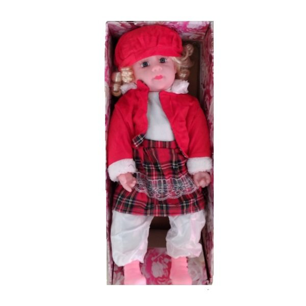 عروسک طرح دختر مدل bm toys ارتفاع 54 سانتی متر