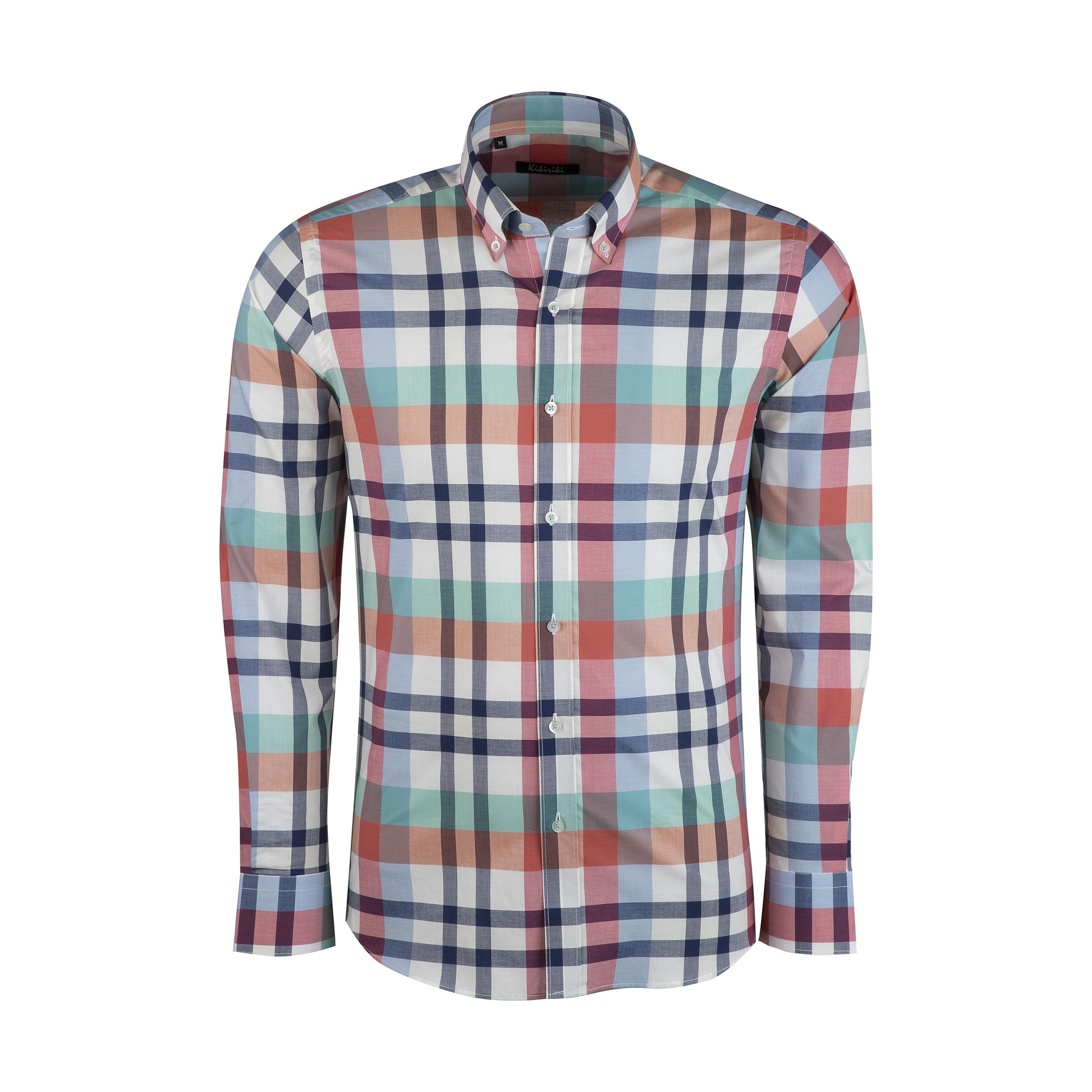 پیراهن مردانه کیکی رایکی مدل MBB2411-014