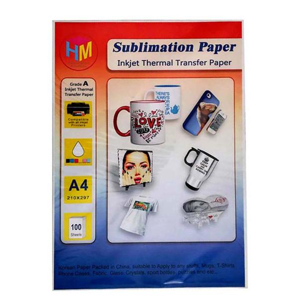 کاغذ سابلیمیشن اچ ام کد IP-4002 سایز A4 بسته 100 عددی