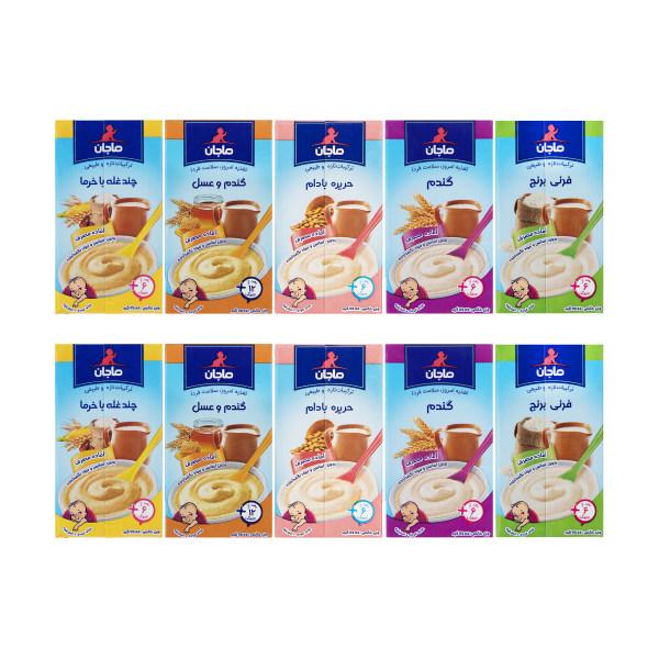 غذای کودک ماجان کاله - 135 گرم مجموعه 10 عددی