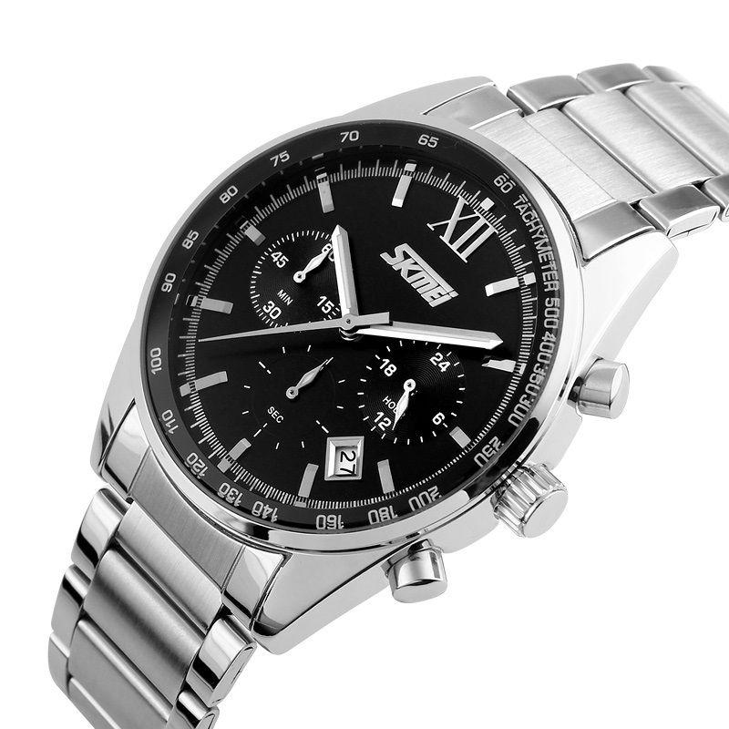 ساعت مچی عقربه ای مردانه اسکمی مدل 96-90 -  - 5
