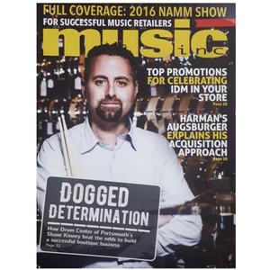 مجله music inc آوريل 2016