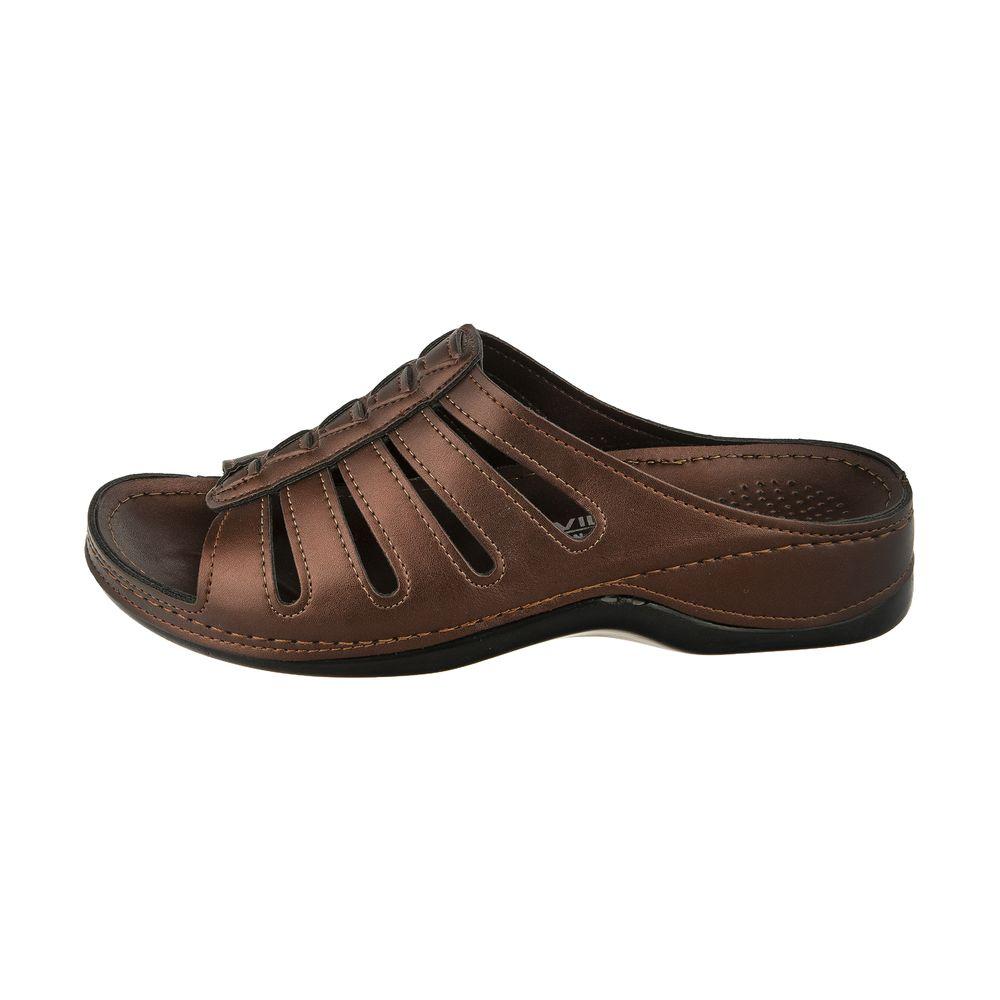 دمپایی زنانه کفش آویده کد av-0304212 رنگ مسی