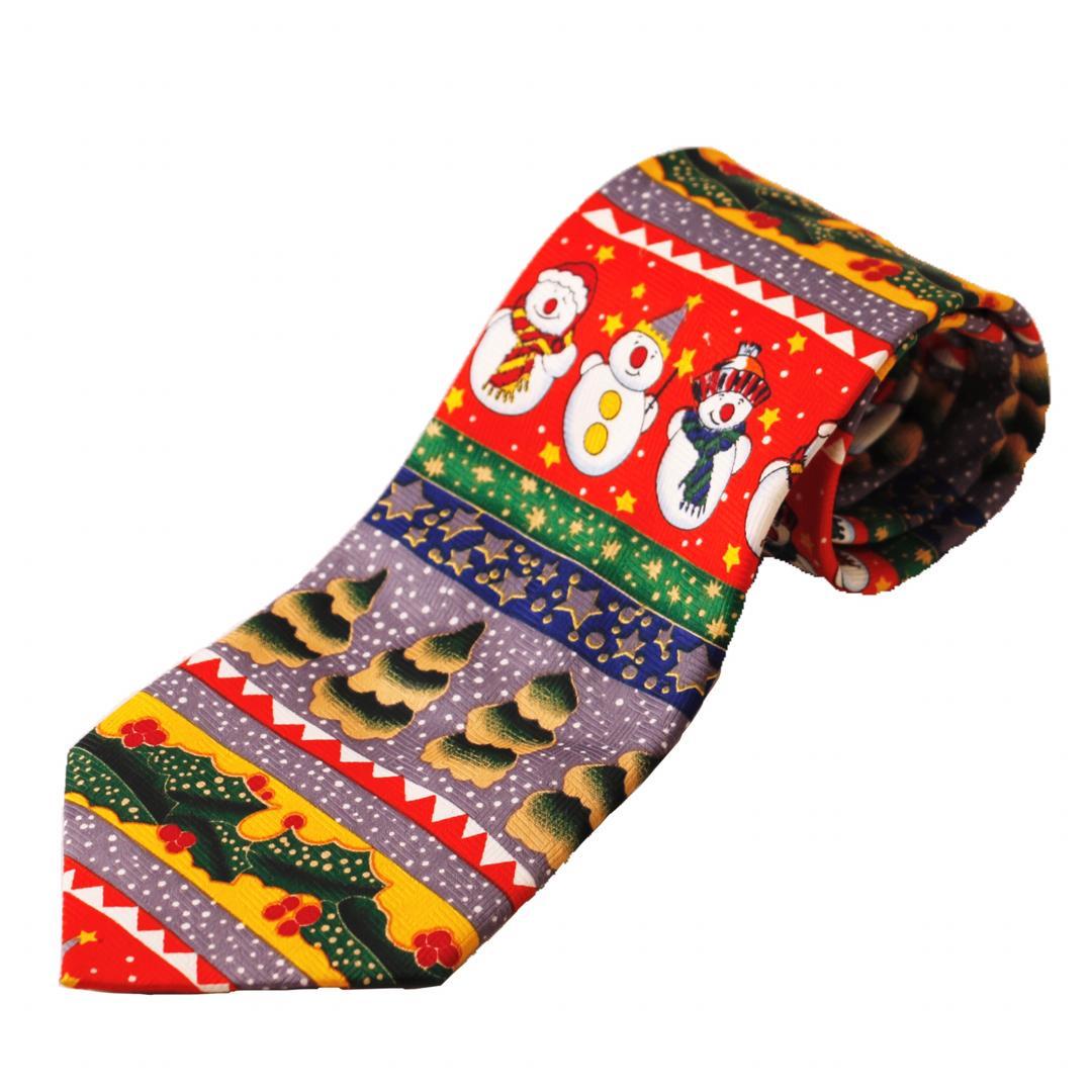 کراوات طرح کریسمس مدل xmax1