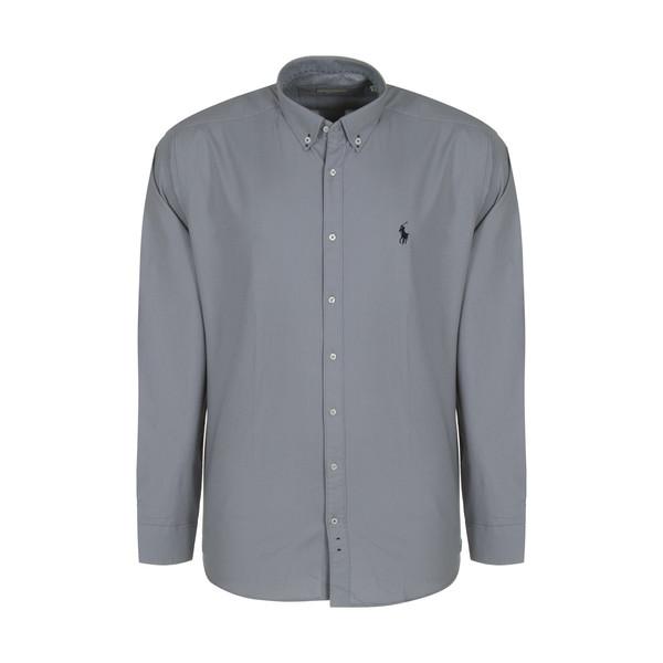 پیراهن آستین بلند مردانه پولو مدل LS09