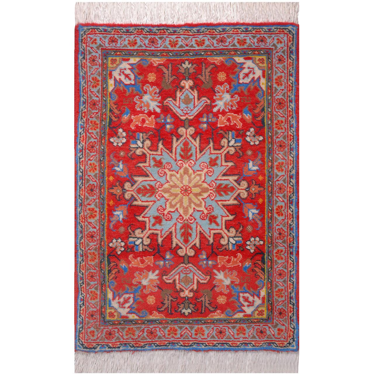 فرش دستبافت یک متری فرش هریس کد 101624