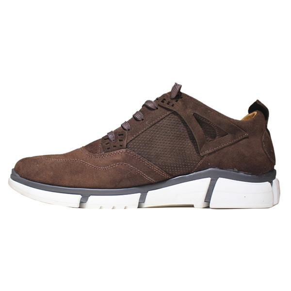 کفش روزمره مردانه چرم آرا مدل sh053 کد gha