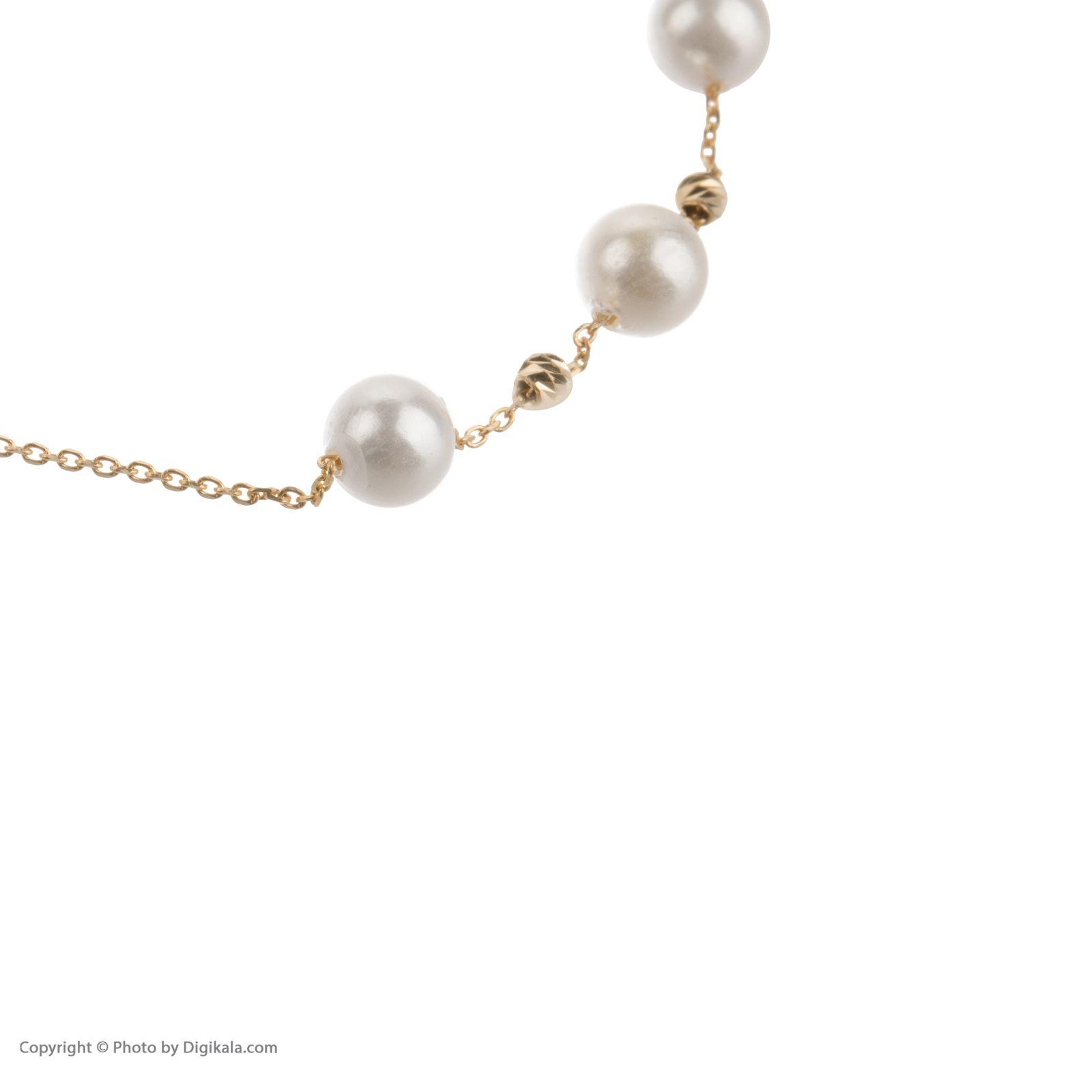 دستبند طلا 18 عیار زنانه مایا ماهک مدل ZMB1051 -  - 4