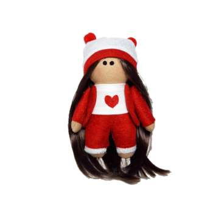 عروسک طرح دختر روسی کد m001 ارتفاع 17 سانتی متر