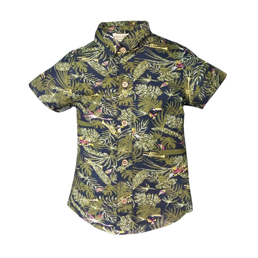 پیراهن پسرانه مدل هاوایی کد kd-17656 غیر اصل
