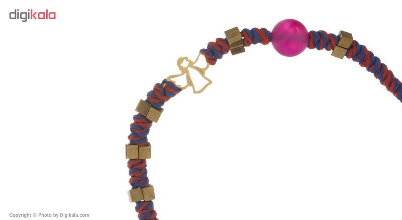 دستبند طلا 18 عیار گرامی گالری مدل B469