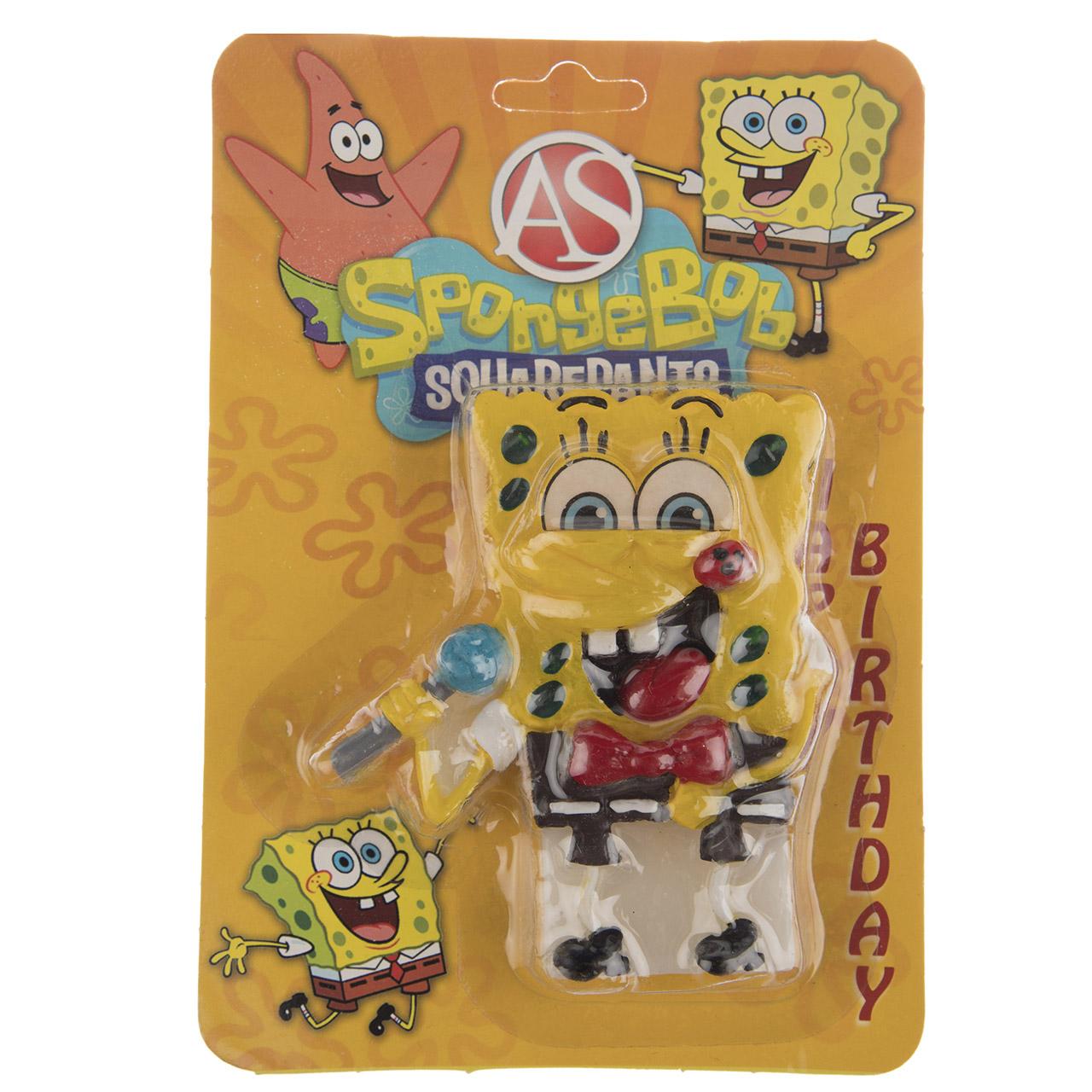 شمع تولد مدل Bob Sponge