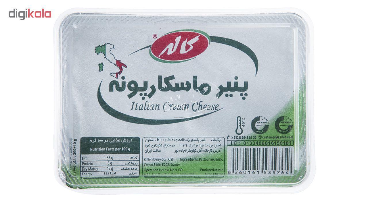 پنیر ماسکار پونه کاله مقدار 200 گرم main 1 2