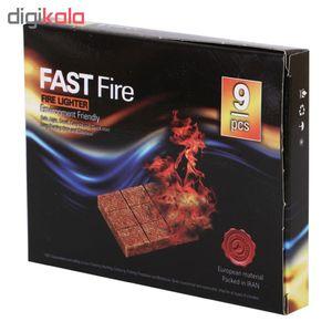 آتش زنه فست فایر مدل 001 بسته 9 عددی