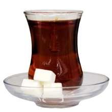 شمع طرح چای مدل کمر باریک