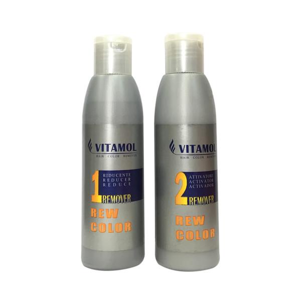 پاک کننده رنگ مو ویتامول مدل 1&2 مجموعه 2 عددی