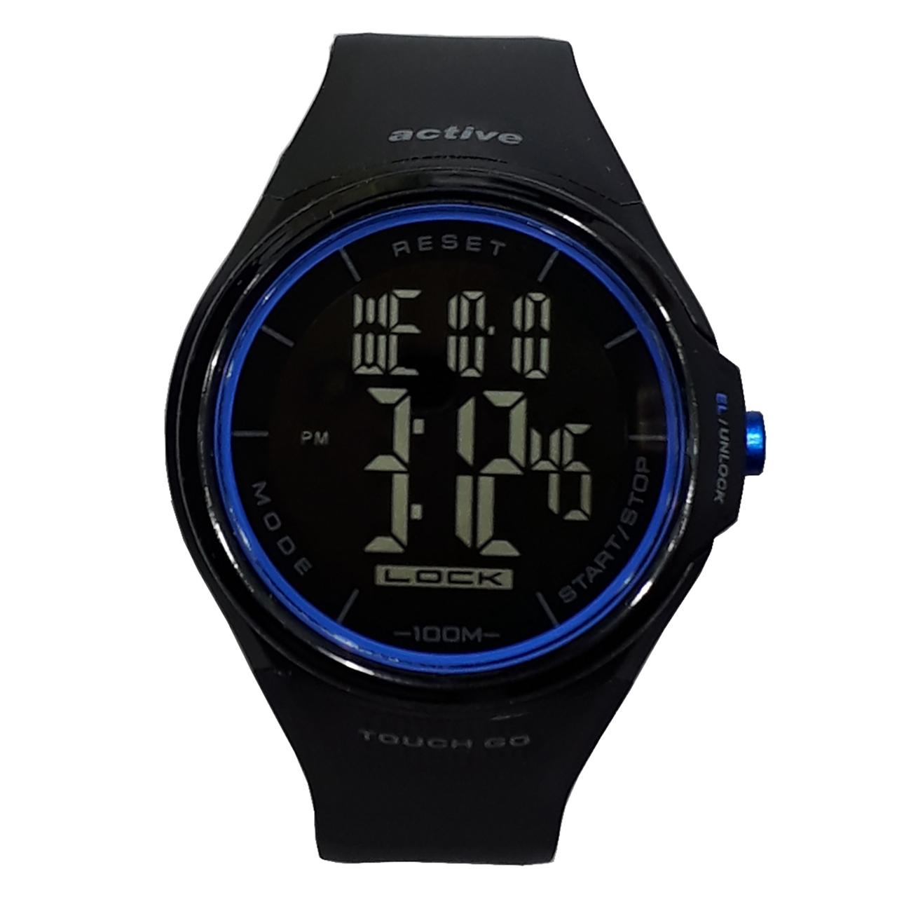 ساعت مچی دیجیتالی مردانه اکتیو مدل YP11528-AO1