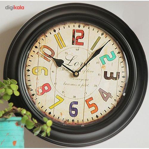 ساعت دیواری هارمونی مدل 140544GR1