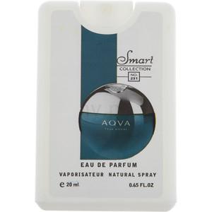 عطر جیبی مردانه اسمارت کالکشن مدل Aqua Pour Homme حجم 20 میلی لیتر