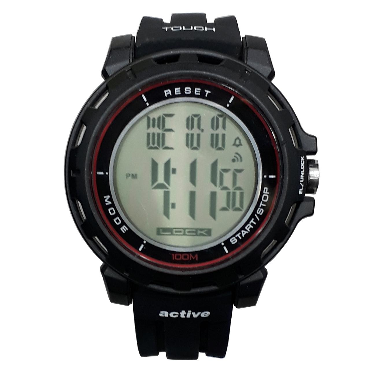 ساعت مچی دیجیتالی مردانه اکتیو مدل YP14649-01