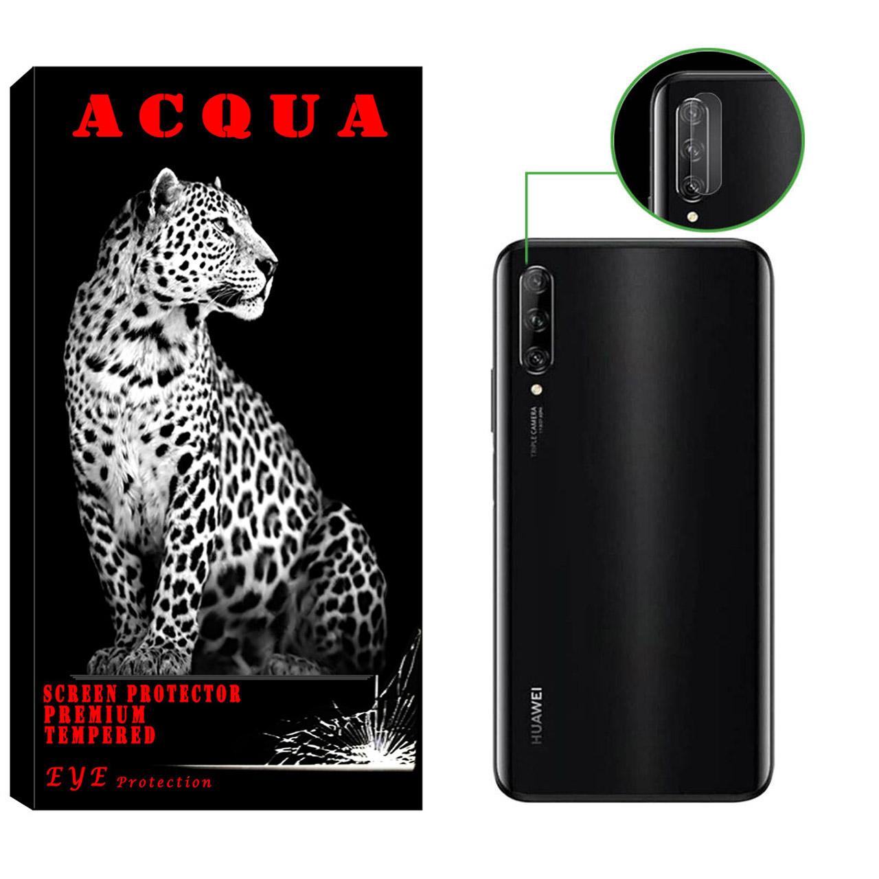 محافظ لنز دوربین آکوا مدل LN مناسب برای گوشی موبایل هوآوی Y9s