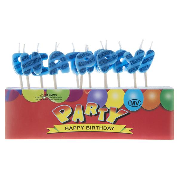 شمع تولد مدل Happy Birthday Party-345