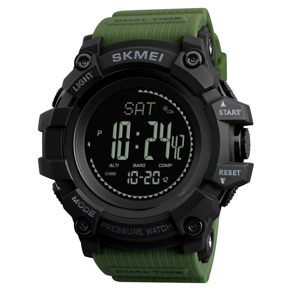 ساعت مچی دیجیتال مردانه اسکمی مدل 1358G-NP -  - 2