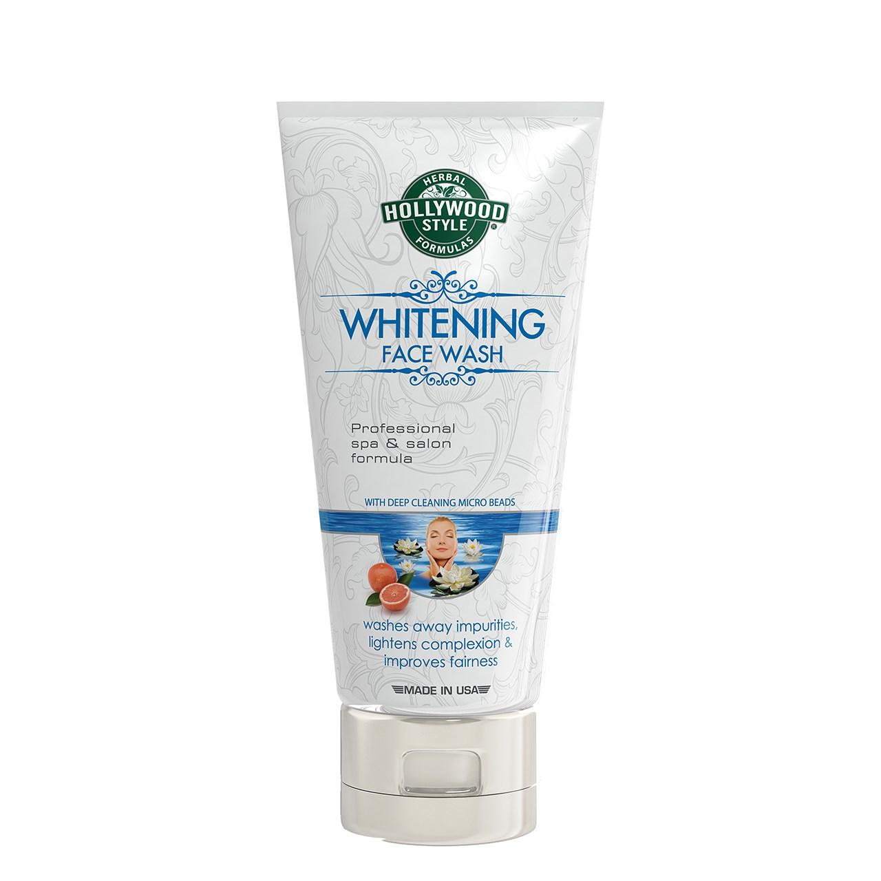 محلول شستشو و سفید کننده دهنده صورت هالیوود استایل حجم 150میلی لیتر