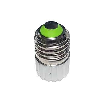 تبدیل سرپیچ لامپ هالوژنی MR16 پایه GU5.3 به E27