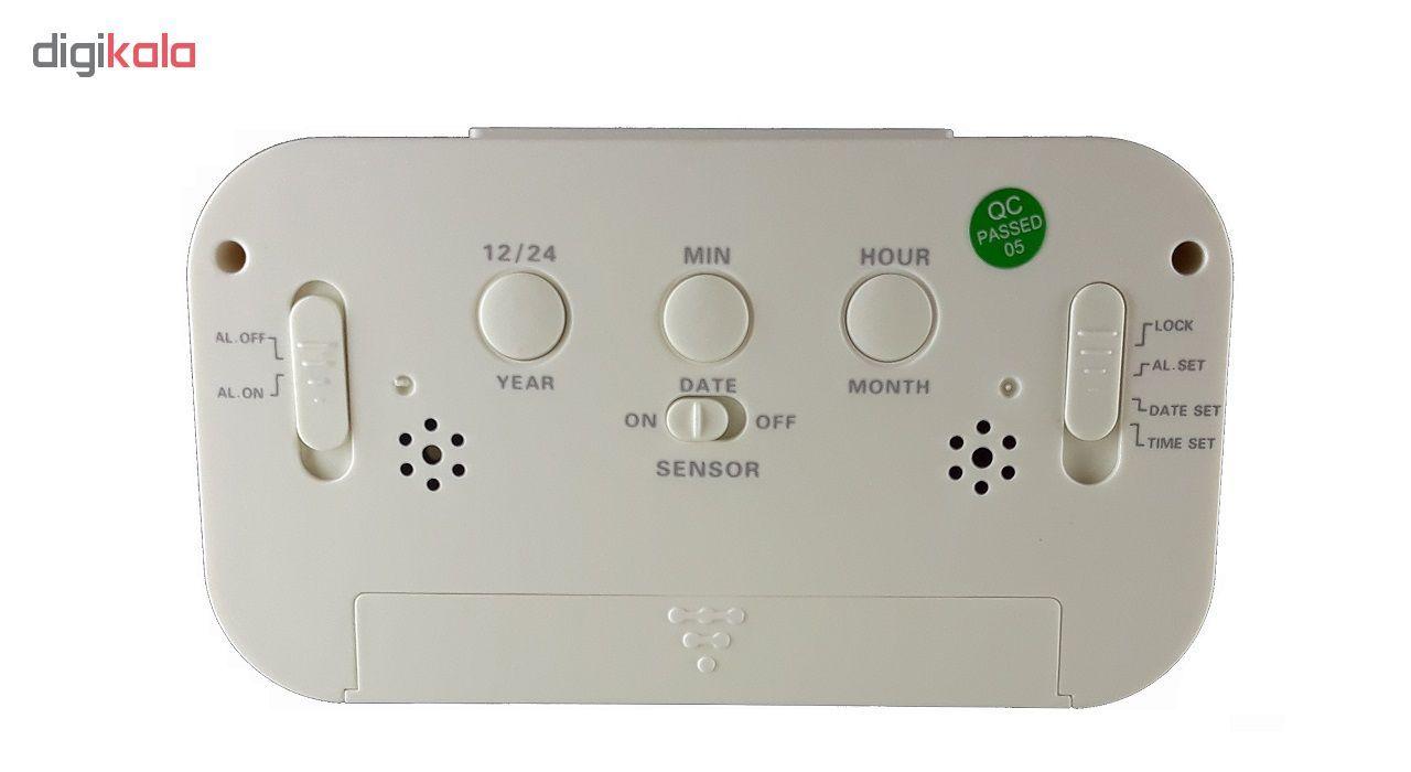 ساعت رومیزی هوشمند اسمارت کلاک مدل TCK-18 کدW11 main 1 2