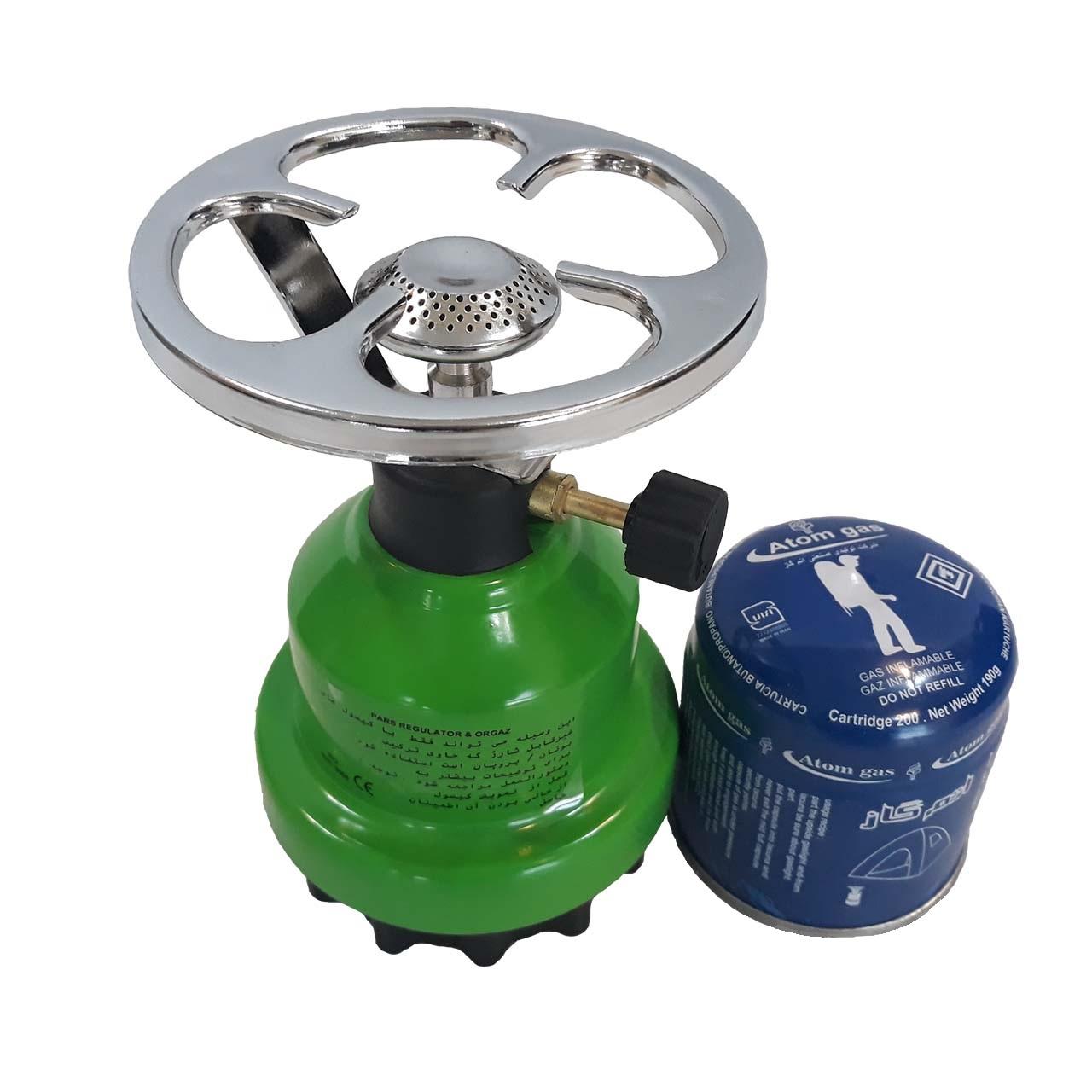 خرید                     اجاق گاز سفری اوراکمپ کد 22016 همراه با کپسول