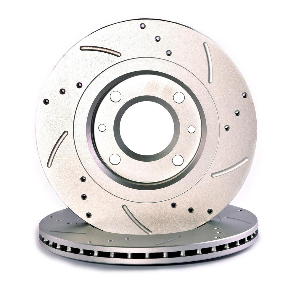 دیسک ترمز چرخ جلو اس اف آر مدل 2025 مناسب برای پژو ۲۰۶ بسته ۲ عددی