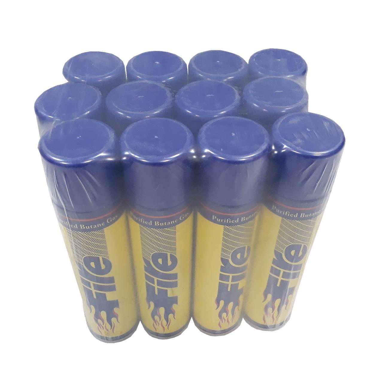 کپسول گاز  فندک فایر  کد 22022 بسته 12 عددی