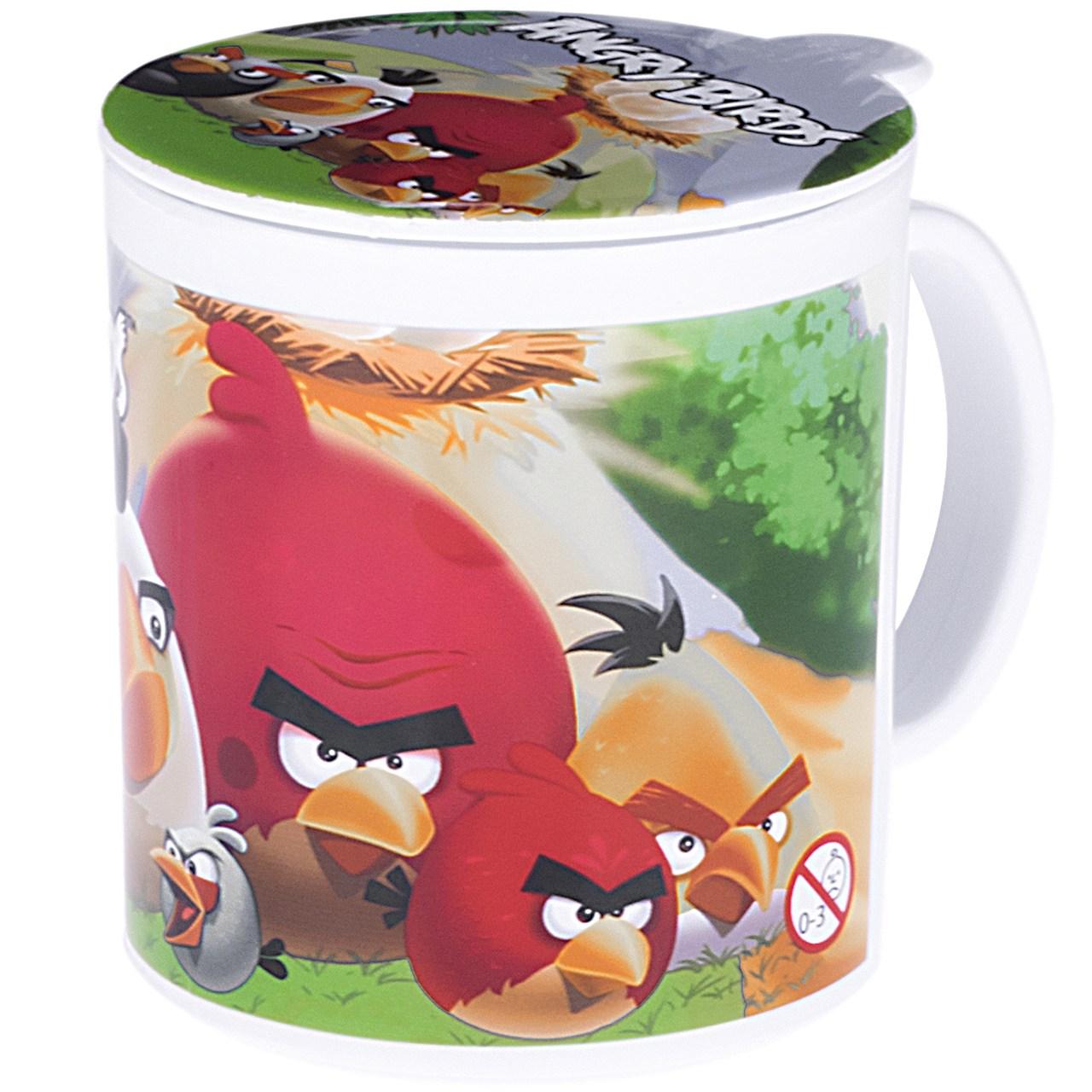 آب میوه خوری مدل Angry Birds