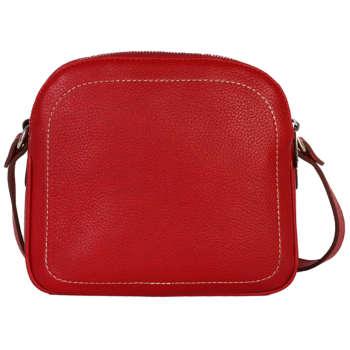 کیف دوشی رویال چرم کد W61-Red