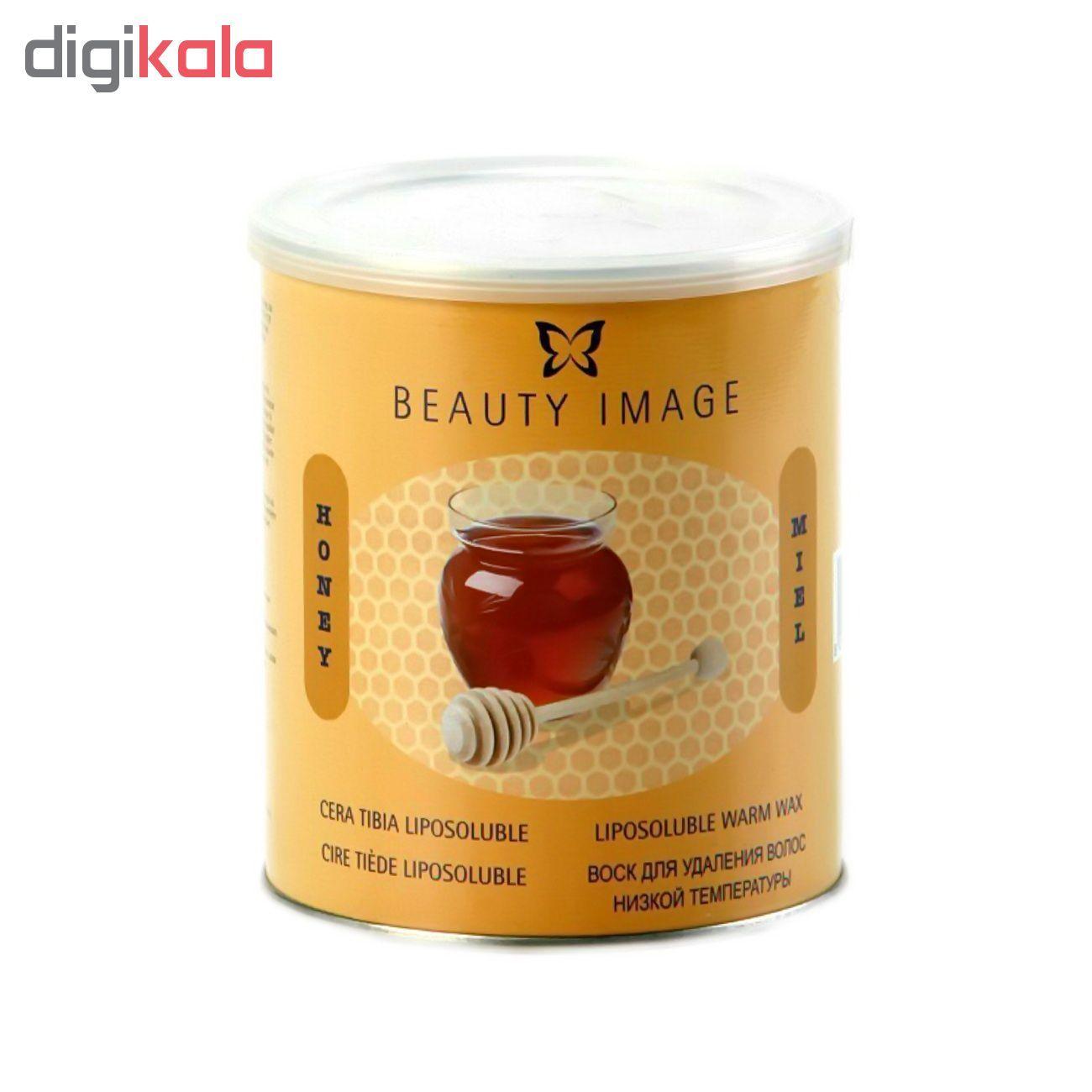 موم بیوتی ایمیج مدل  Honey مقدار 800 گرم main 1 1