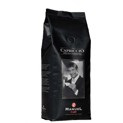 دانه قهوه مانوئل  مدل capriccio بسته 500 گرمی