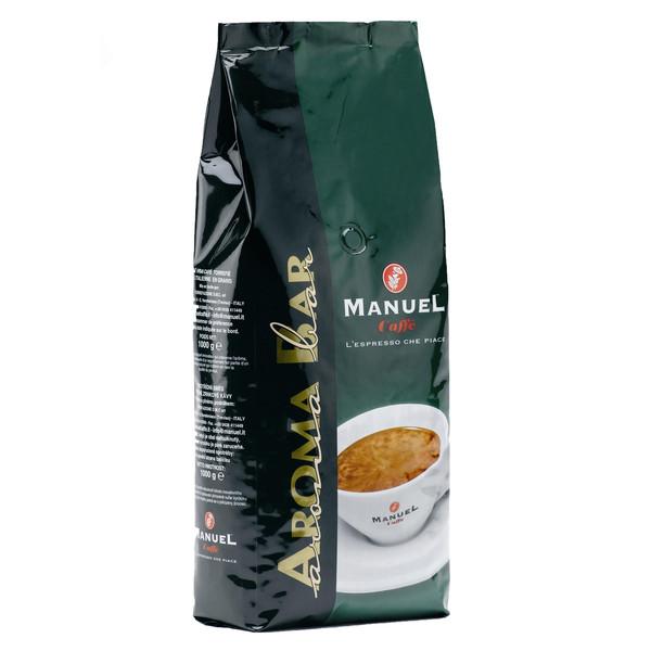دانه قهوه مانوئل کافه مدل AROMA BAR بسته 1000گرمی